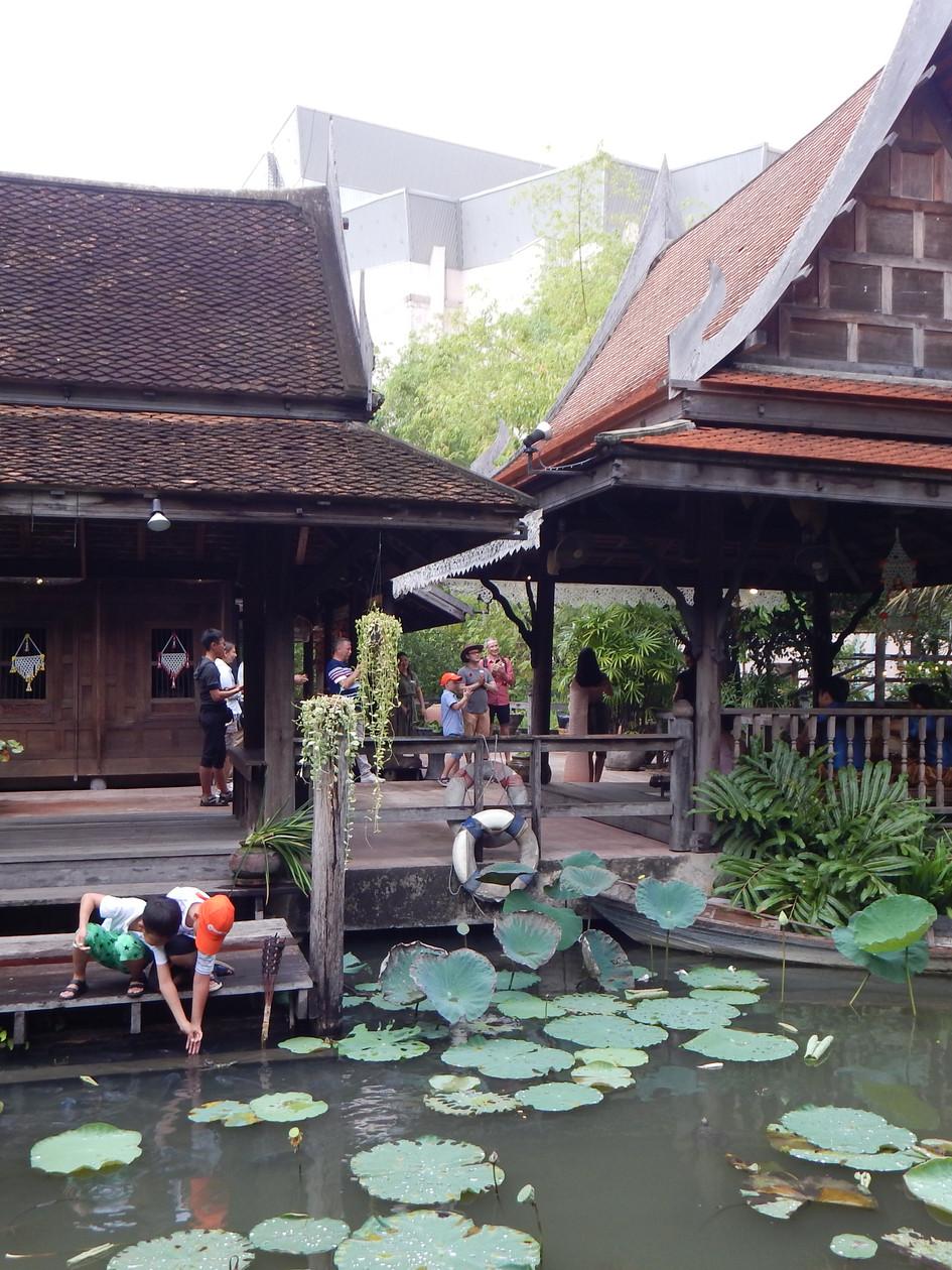Fishing at Siam Niramit, Thailand