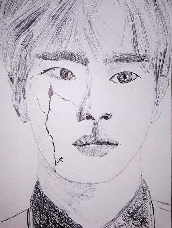 """Portrait of Seokjin"" by R.D."
