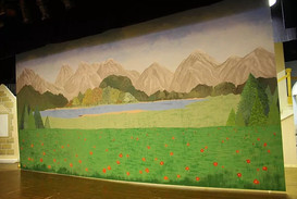 Sound of Music - Theatrical Backdrop