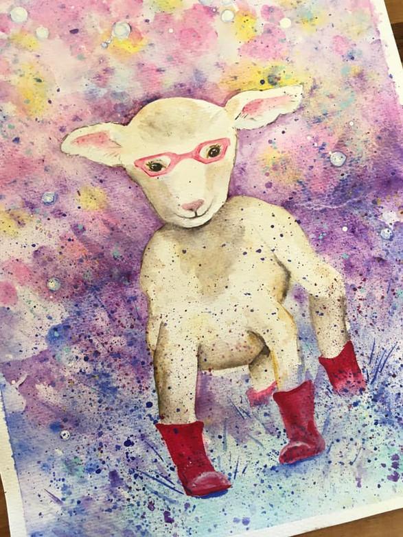 See and Splash Lamb