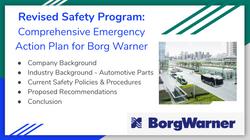 Revised Safety Program for BorgWarner