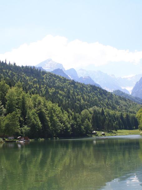 Lake near Garmish, Germany