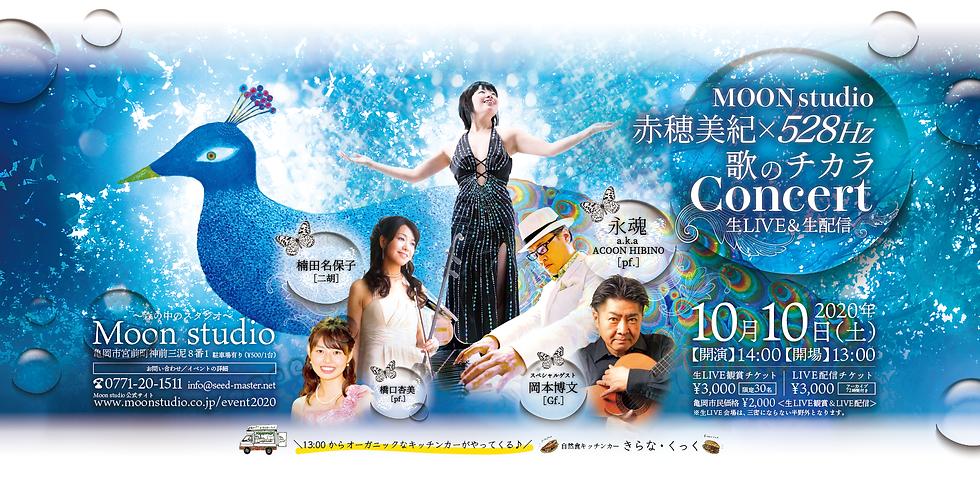 赤穂美紀 528Hz × 歌のチカラ Concert