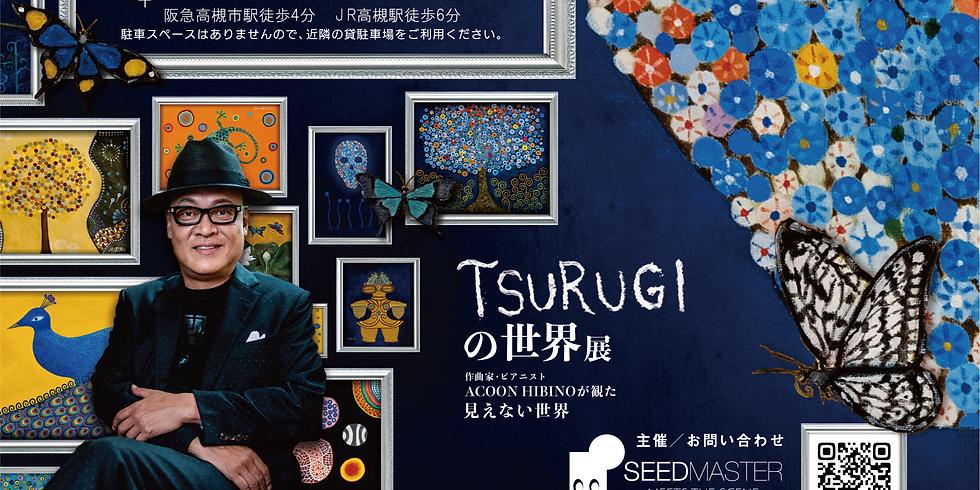 TSURUGIの世界 展 ~作曲家・ピアニスト ACOON HIBINOが観た見えない世界~