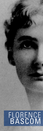 Bascom was the first woman to earn a degree from Hopkins, and the first woman hired by the US Geological Survey.