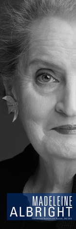 Albright was the first female Secretary of State.