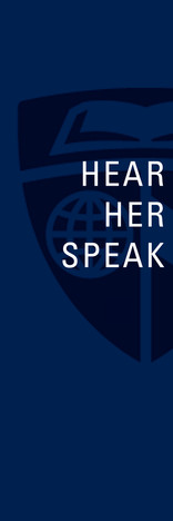 Want to hear the Women of Hopkins speak here on campus?