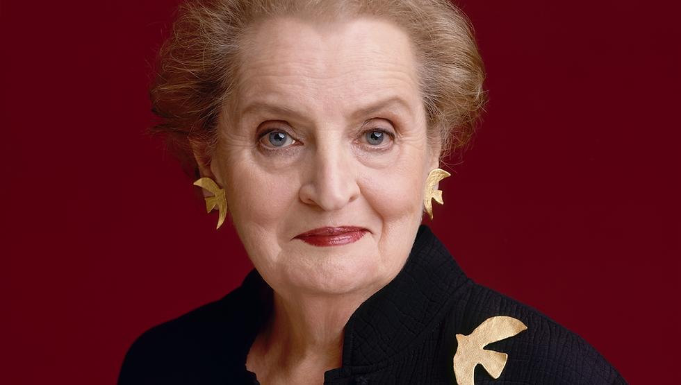 Portrait of Madeleine Albright.