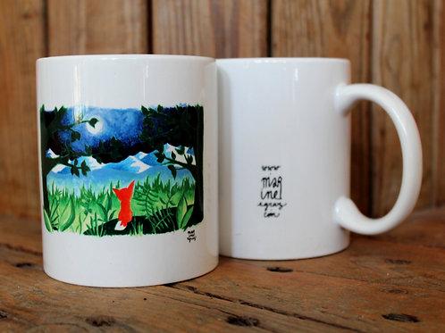"""Mug """"Le Renard rouge"""""""