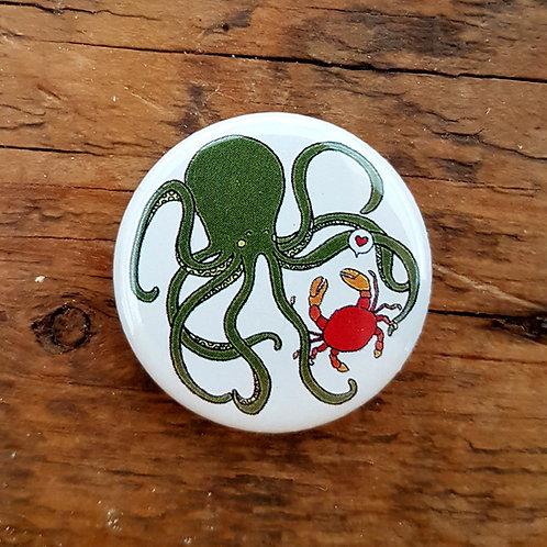 """Aimant """"Amour de Crabe"""""""