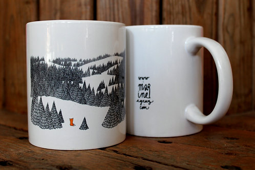 "Mug ""La Contemplation"""