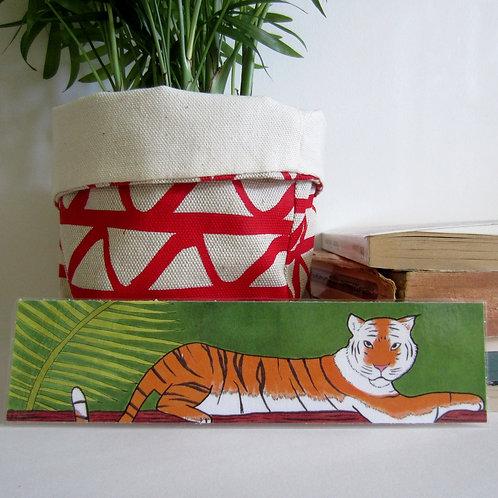 """Marque-page """"Le Tigre"""""""