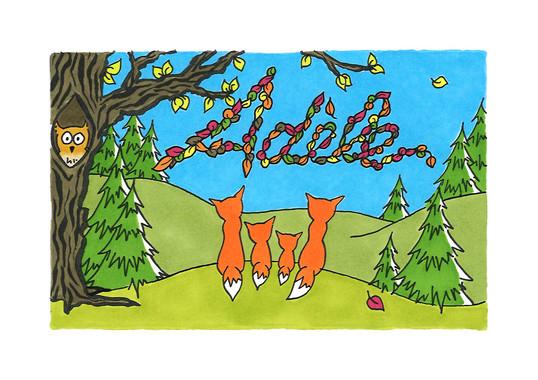 Adèle (carte simple, recto)