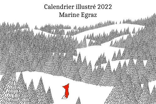 Calendrier illustré 2022