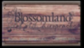 Blossomland Sign