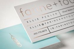 Silk  +  Foil Business Card