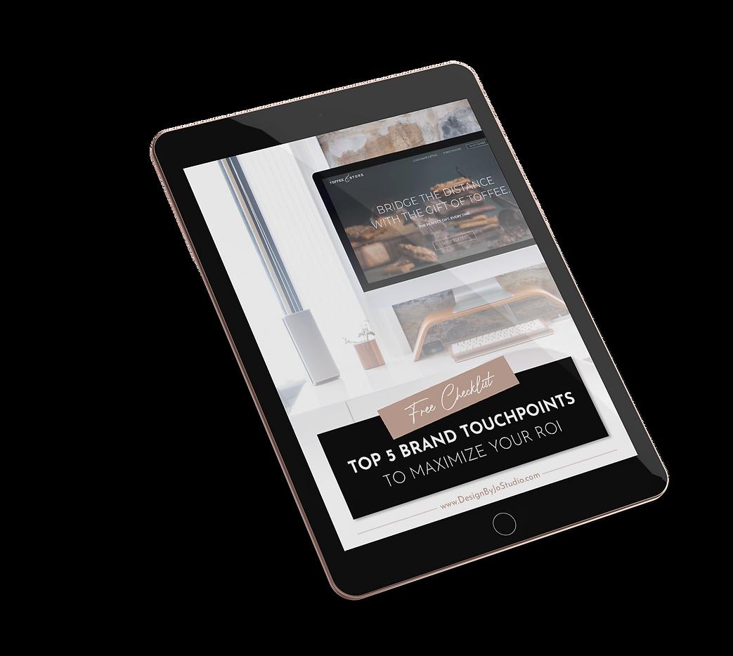 Brand Touchpoints - Free Checklist