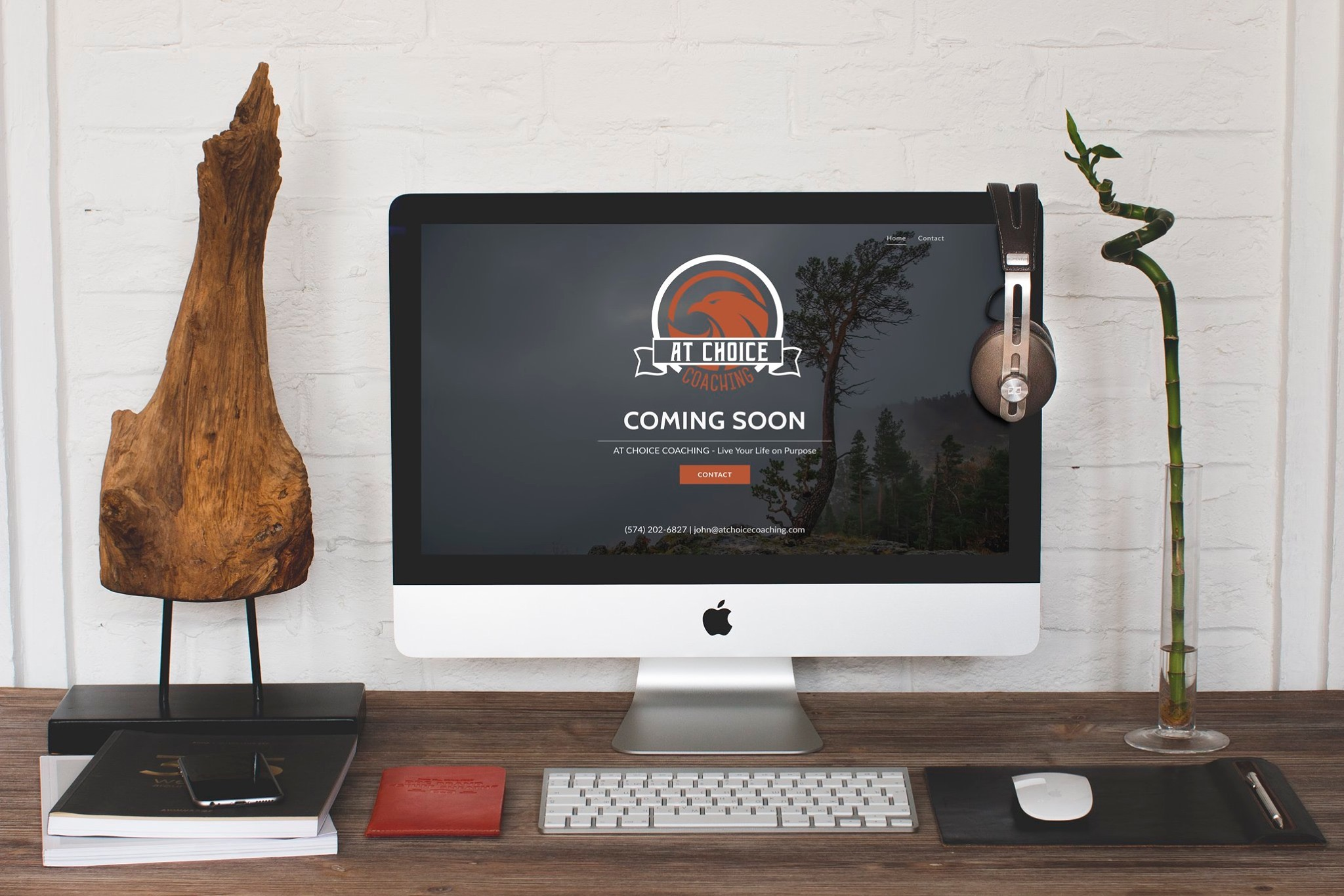 Coming Soon Page - At Choice Coaching