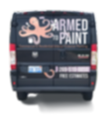 Armed to Paint Vehicle Wrap