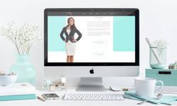 Website Mockup - Design by Jo