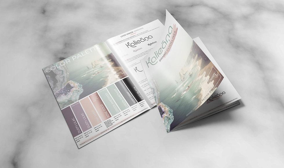 brand guidelines - Kalieana