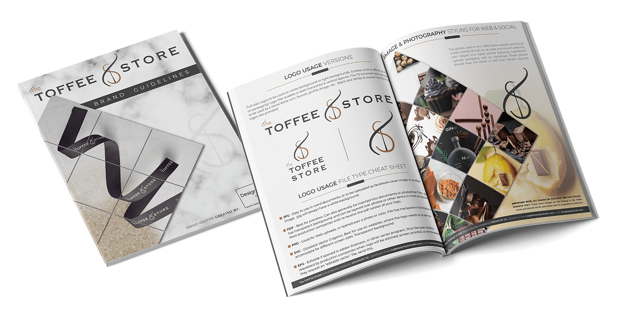 toffee store brand guidelines