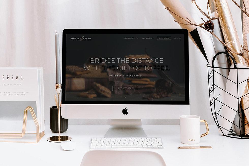ToffeeStore_DesktopMockup1-gold_website_