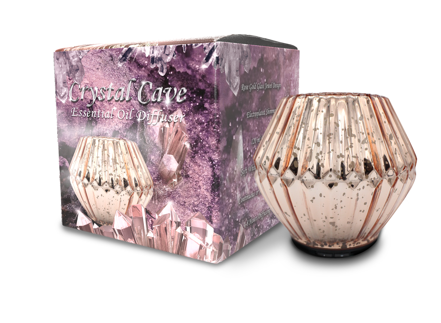 Crystal Cave Diffuser box