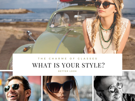 How to choose glasses according to your style.