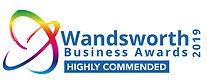 Wandsworth Business awards logo 2019 HIG