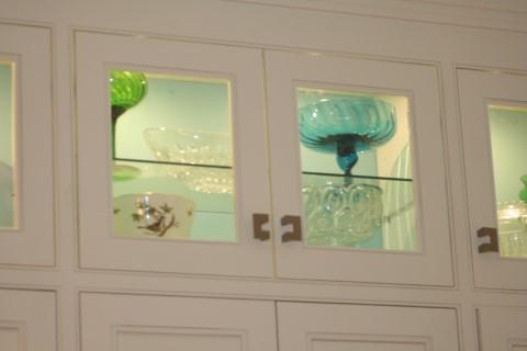 Glass door display