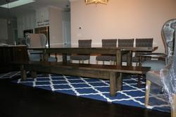 Custom stain table