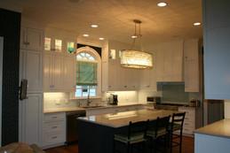 White inset door Kitchen