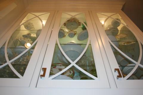 Glass door trim