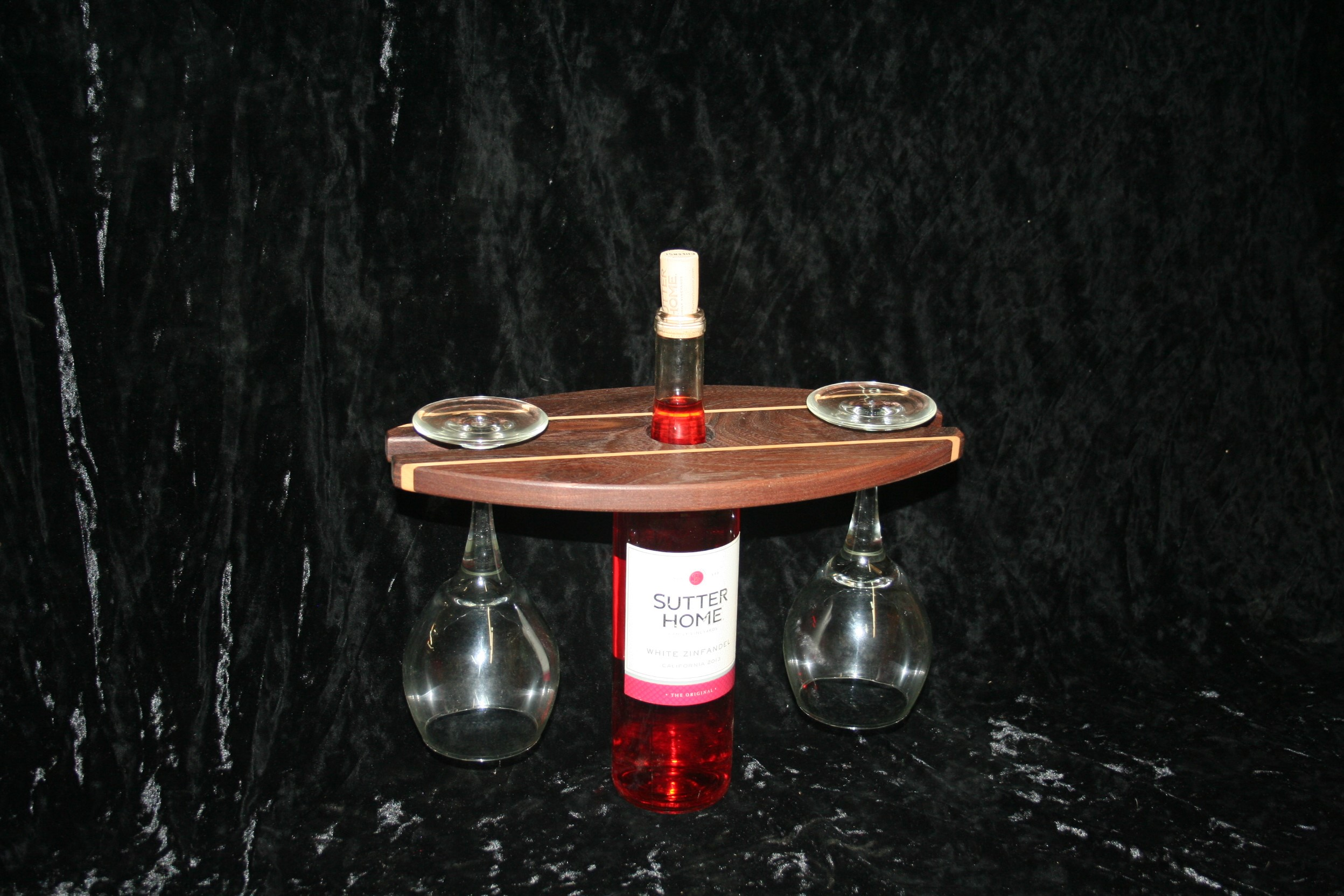 wine caddie display