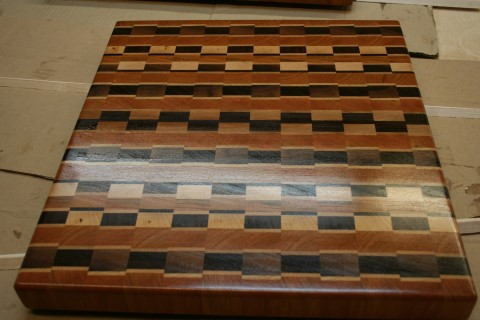 Multiple pattern cutting board
