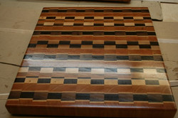 Multiple pattern cutting board