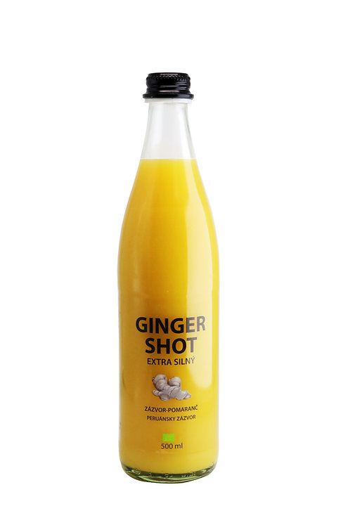 Ginger shot  Orange 500ml