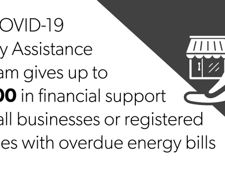 PROGRAM ENDED - COVID-19 Energy Assistance Program - Small Business (CEAP-SB)
