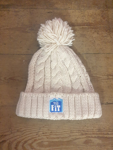 Pit Beanie (cable knit - oatmeal)