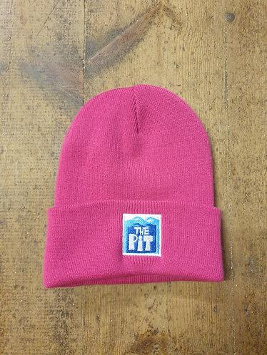 Pit Beanie (Fluro Pink)