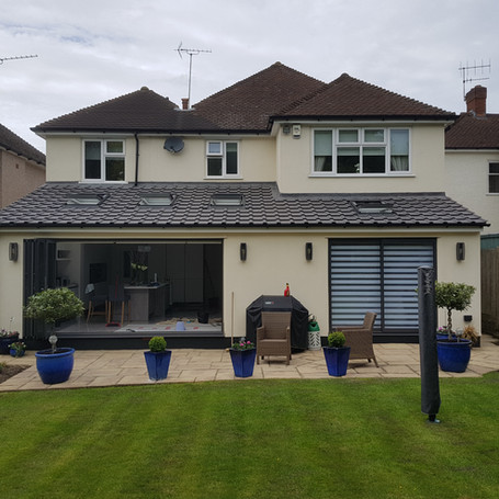 Kitchen extension in Ewell