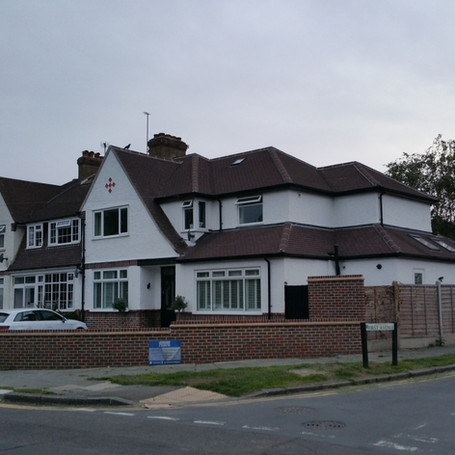 Rear and side double extension in Ewell