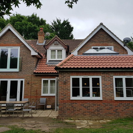 Rear double extension in Epsom