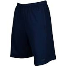 Navy Fleece Gym Short