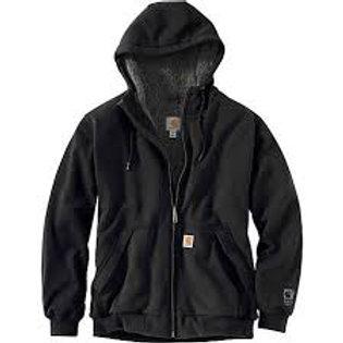 103308 Sherpa Lined Zip Hood