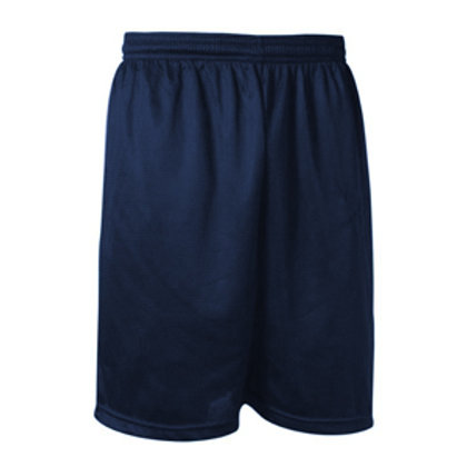 Navy Mesh Gym Short