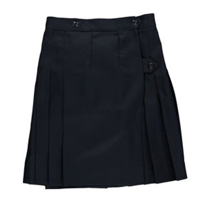 Navy Wrap Around Kilt (Grade 6-8)