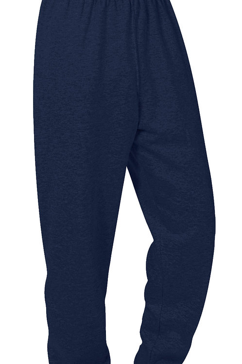 Navy Gym Sweat Pant with Logo