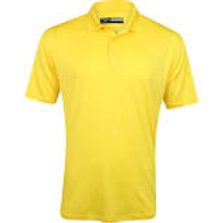 Yellow SS Polo with Logo